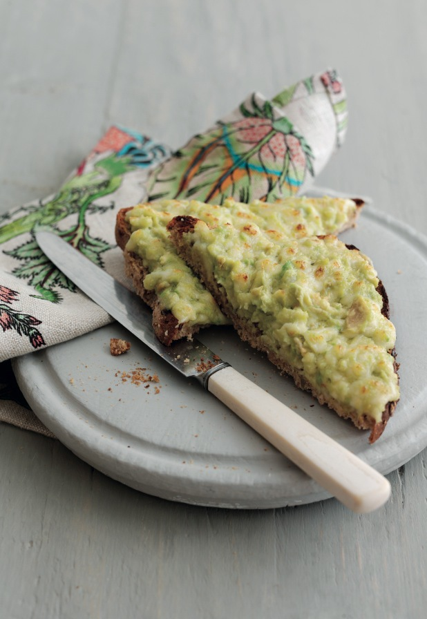 Avocado Cheese On Toast