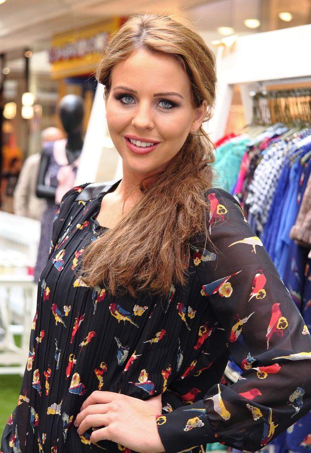 Lydia Bright Bella Sorella pop-up boutique, Meadowhall, Sheffield, Britain - 07 Aug 2013