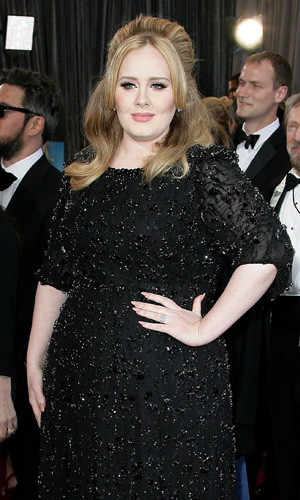 The 85th Annual Oscars at Hollywood & Highland Center - Red Carpet Arrivals PersonInImage:Adele,Adele Adkins Credit : Adriana M. Barraza/WENN.com Date Created : 02/24/2013 Location: Los Angeles, United States