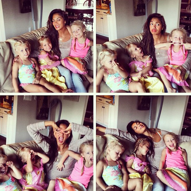 Nicole Scherzinger celebrates sister Keala's birthday, August 2013