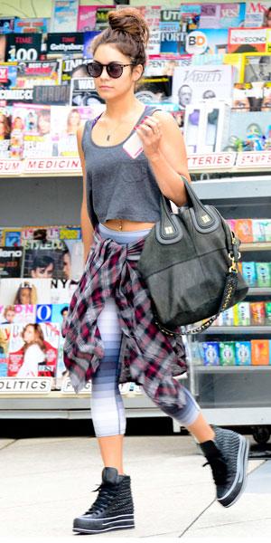 Vanessa Hudgens in LA, 01/08/13