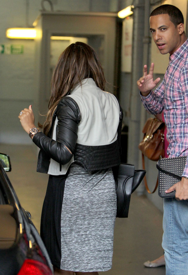 Rochelle and Marvin Humes outside ITV studios, London, Britain - 08 Aug 2013