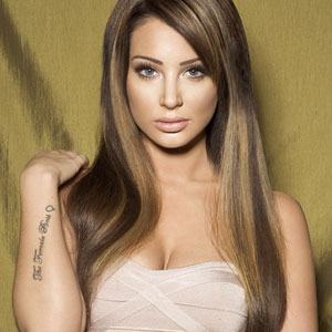 Tulisa Contostavlos in a new campaign picture. 6 August 2013