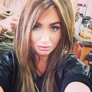 Lauren Goodger Instagram selfie Tatiana Hair Extensions 9 August