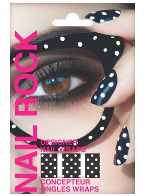 Nail Rock polka dot nail wraps