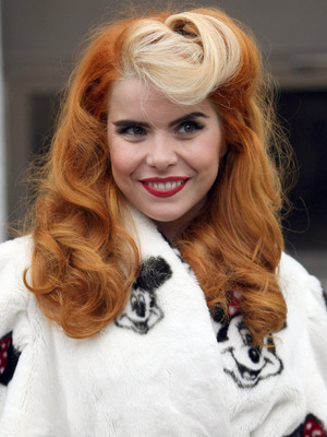 Paloma Faith Leaving ITV studios to promote her new Single 'Just Be' London, England - 08.11.12