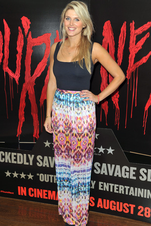 'You're Next' film screening, London, Britain - 13 Aug 2013 Ashley james