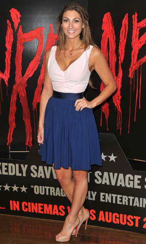 Luisa Zissman at 'You're Next' Screening at the Soho Hotel - 13 August 2013