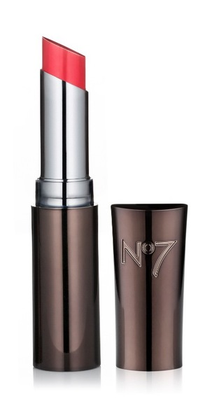 No 7 Stay Perfect Lipstick in Gay Geranium
