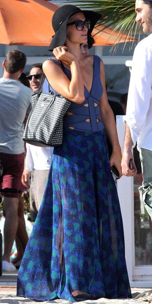 Paris Hilton out and about in Los Angeles, America - 14 Jul 2013