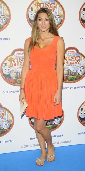 Luisa Zissman attends film screening of 'Thomas and Friends: King of the Railway' in London - 18 Aug 2013