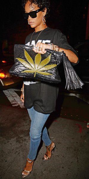 Rihanna at 'Lyon' restaurant, West Village, New York, America - 12 Aug 2013