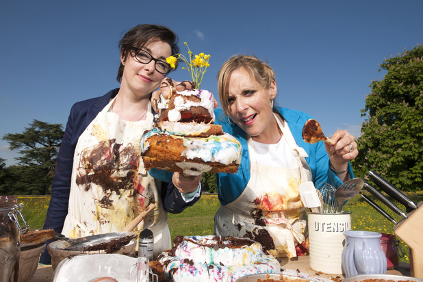 The Great British Bake Off, BBC2, Mel and Sue, Tue 20 Aug