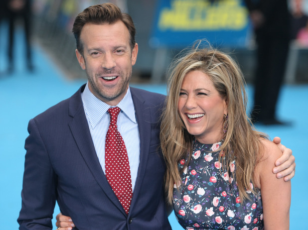 Jennifer Aniston, European Premiere of 'We're the Millers' held at Odeon West End - Arrivals 14 August 2013