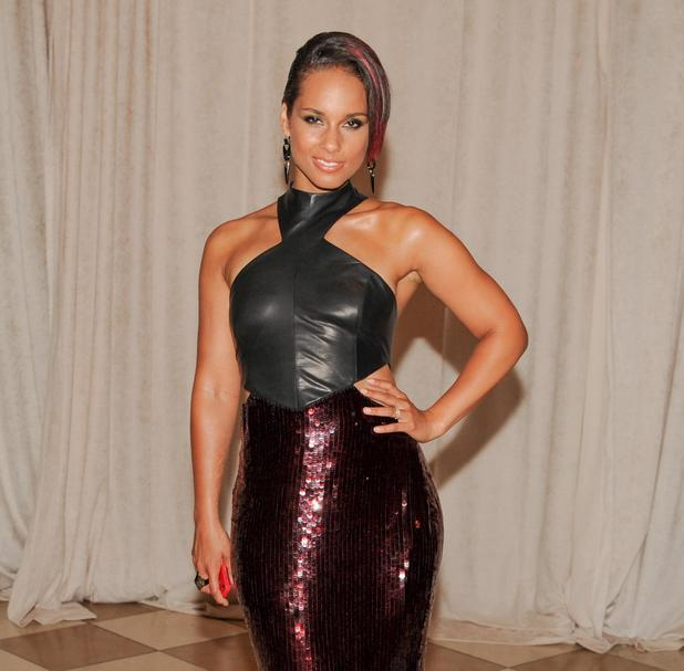 Alicia Keys at the Met Gala in New York - May 2013