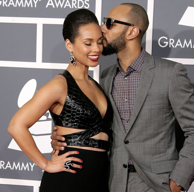 55th Annual Grammy Awards, Arrivals, Los Angeles, America - 10 Feb 2013 Alicia Keys and Swizz Beatz