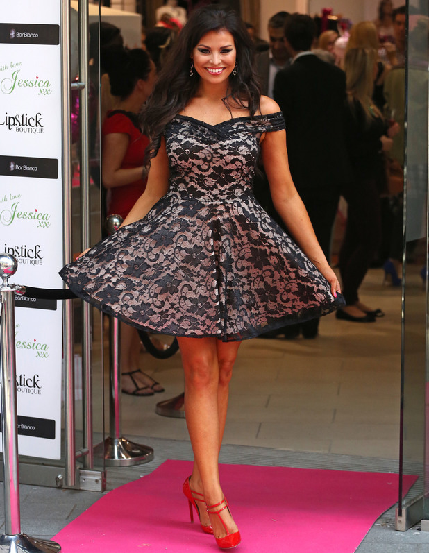Jessica Wright launches her pop-up boutique, 'With Love Jess xx' in association with Lipstick Boutique at Westfield Stratford City, 15 August 2013