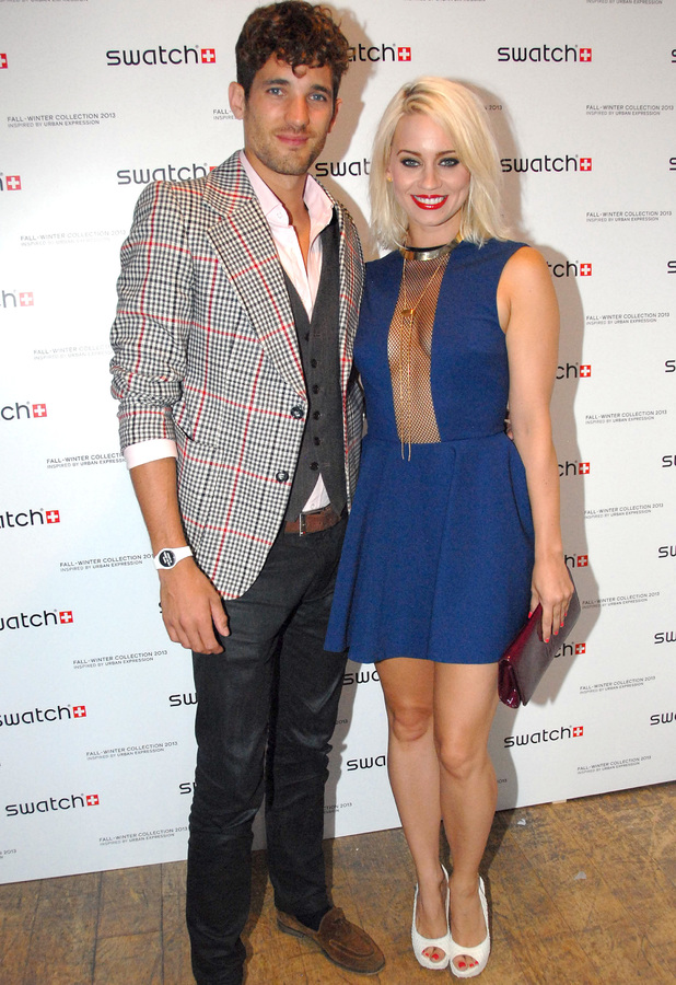 Kimberly Wyatt, Max Rogers - Launch of Urban Expression by Swatch at Blackall Studios