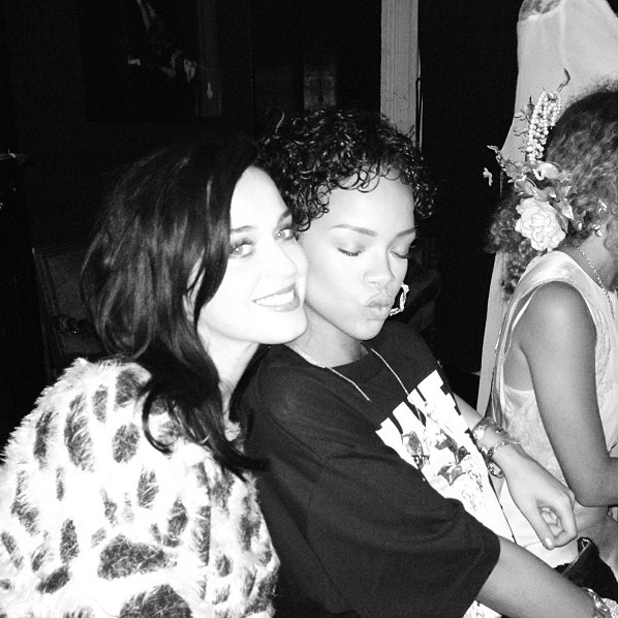 Katy Perry and Rihanna reunite in New York