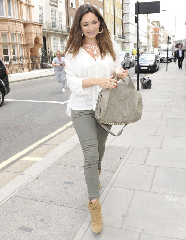 Kelly Brook out in London, 12 August 2013