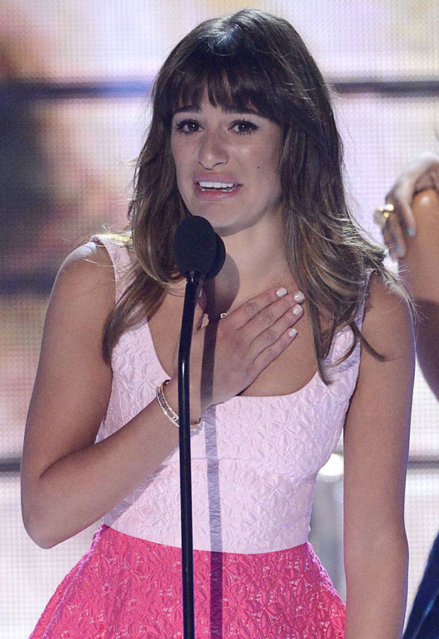 Lea Michele at the 2013 Teen Choice Awards, Show, Los Angeles, America - 11 Aug 2013
