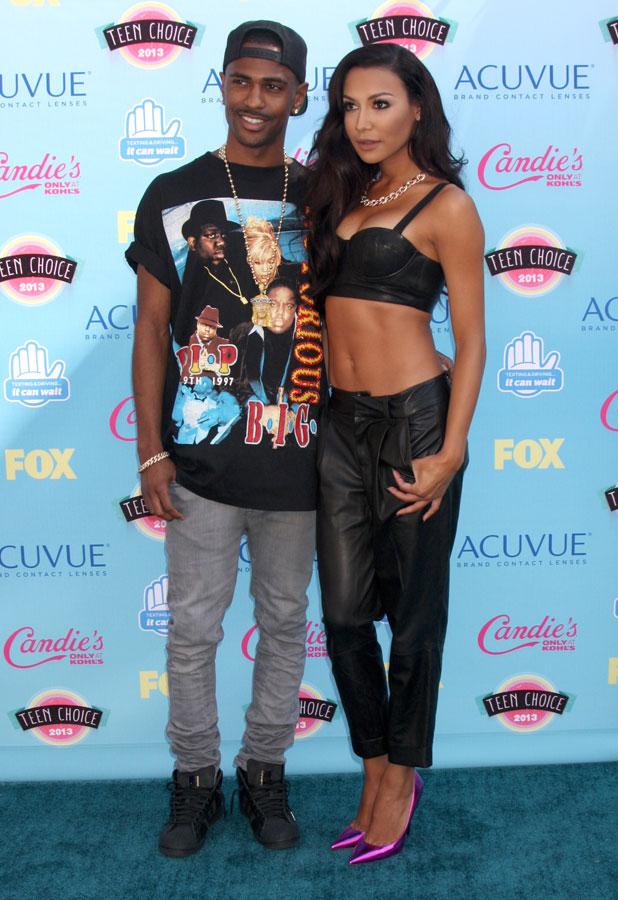 Teen Choice Awards 2013:Naya Rivera and Big Sean