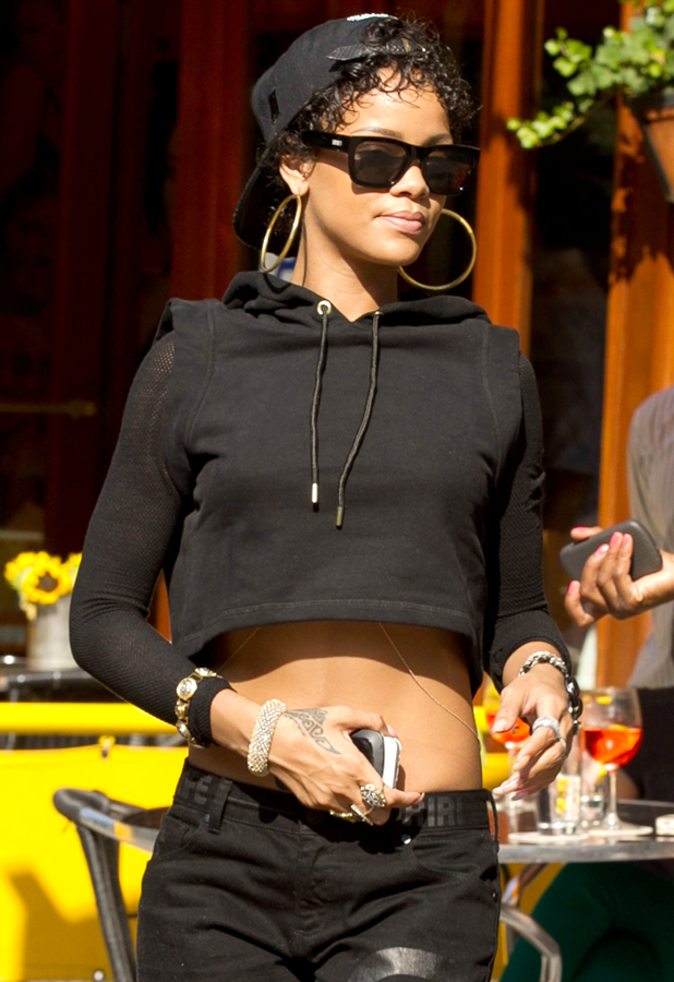 Rihanna out and about in New York, America - 13 Aug 2013 Rihanna 13 Aug 2013