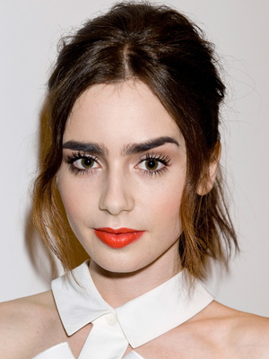 Flaunt Magazine celebrates pre-release of 'Dye Issue' with coverstar Lily Collins, Los Angeles, America - 13 Aug 2013