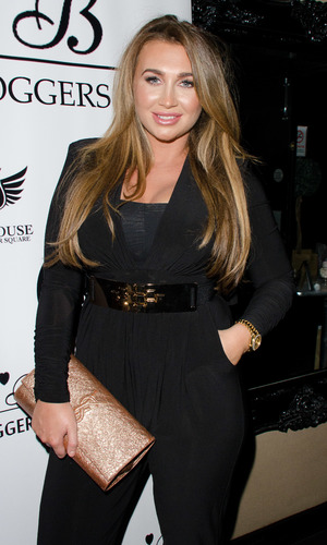 The Bloggers Love Collection - fashion show at The Penthouse Lauren Goodger - 22 August 2013