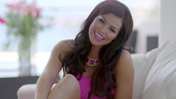 TOWIE's Jessica Wright - stills from music video 'Come With Me' - 23 August 2013