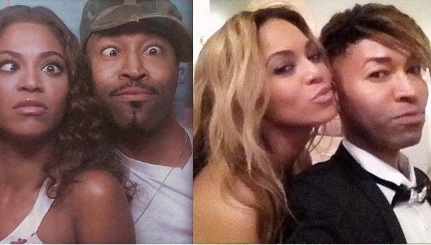 Beyoncé celebrates stylist Ty Hunter's birthday - 21 August 2013