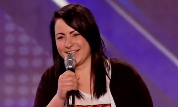 Lucy Spraggan's first audition on The X Factor - 22 August 2013