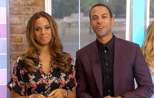 Marvin and Rochelle Humes on This Morning - 23 August 2013