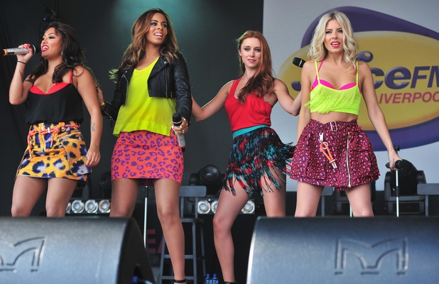 The Saturdays perform at the Liverpool International Music Festival, a two-day event - 25 Aug 2013