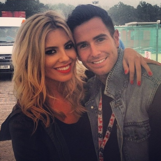Mollie King at V Festival, 17 August, Chelmsford, Essex