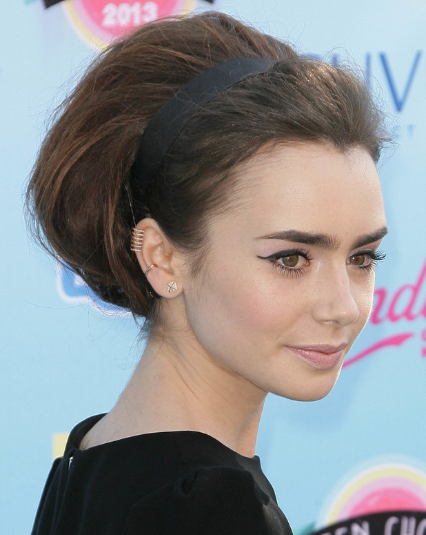 Lily Collins, 2013 Teen Choice Awards Arrivals held at the Gibson Amphitheatre, 11 August 2013