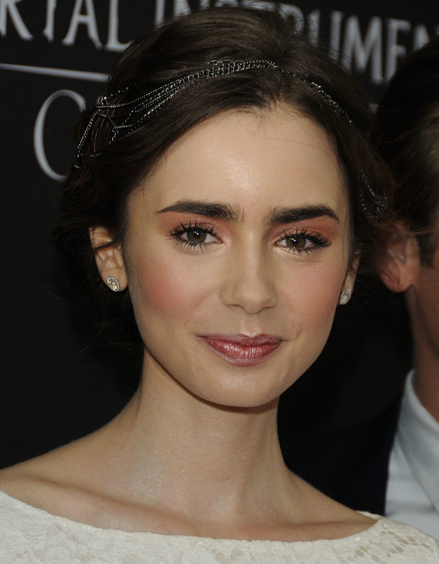 Lily Collins, Arrival for the Canadian Premiere of 'Film The Mortal Instruments: City of Bones' 15 August 2013