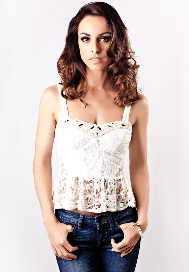 Lindsay Armaou from B*Witched
