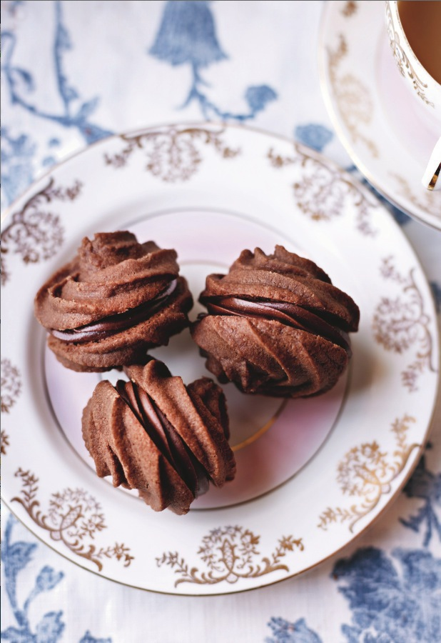 Jo Wheatley's Chocolate Mousse Melting Moments