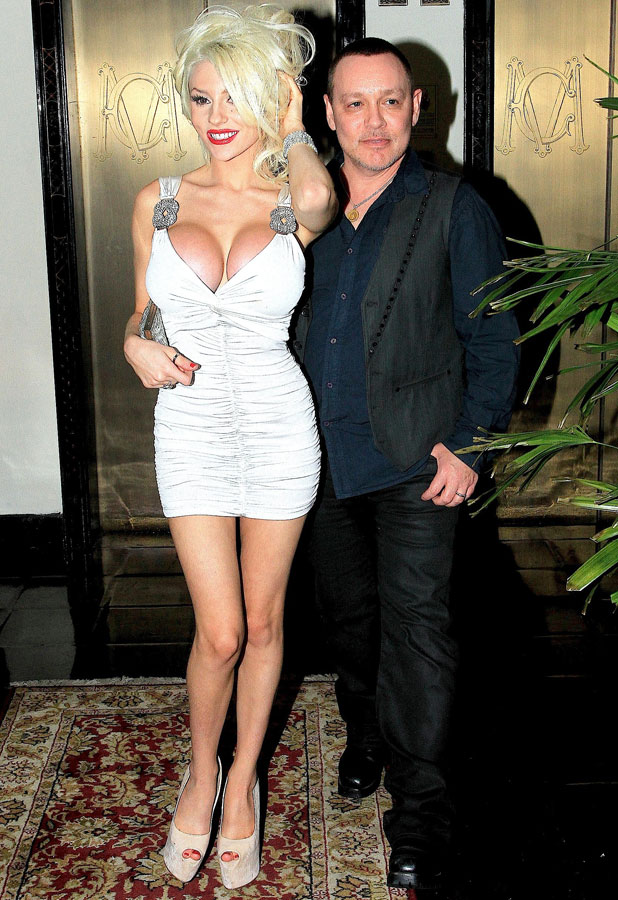 Courtney Stodden and Doug Hutchison at Chateau Marmont, August 2013