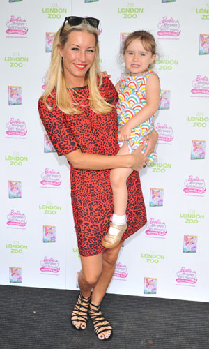 'Barbie Mariposa & the Fairy Princess' VIP screening and DVD release held at London Zoo - Arrivals PersonInImage:Denise Van Outen Credit :WENN.com