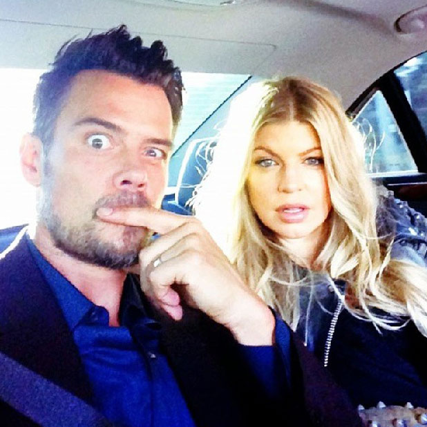 Fergie and Josh Duhamel attend Scenic Route Los Angeles Premiere at Chinese Theater 6 - Hollywood, 20 August 2013