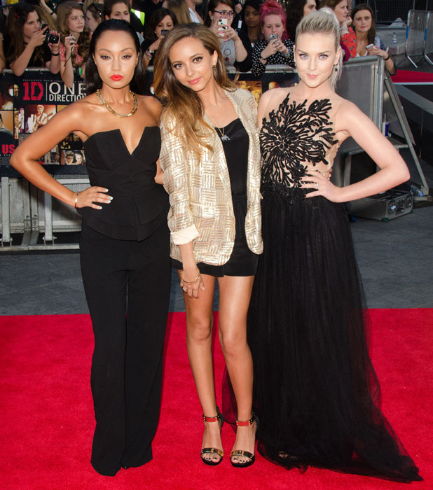 Little Mix at the world premiere of One Direction's movie, London, 20 August 2013