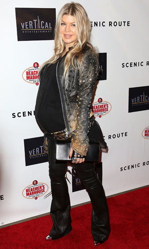 Fergie attends Scenic Route Los Angeles Premiere at Chinese Theater 6 - Hollywood, 20 August 2013