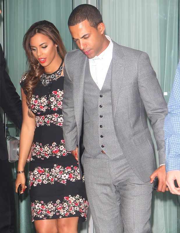 'One Direction: This Is Us' film premiere after party, London, Britain - 20 Aug 2013 Rochelle Wiseman and Marvin Humes