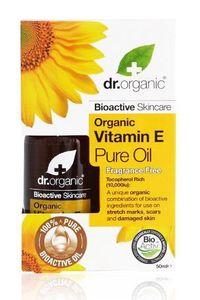 Dr Organic Vitamin E Pure Oil, £8.49, Holland & Barrett