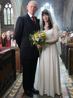 Doc Martin, Martin and Louisa get married, Mon 2 Aug
