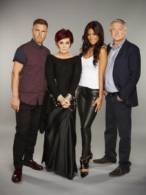 The X Factor, Gary Barlow, Sharon Osbourne, Nicole Scherzinger and Louis Walsh, Sat 31 Aug