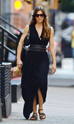 Jessica Biel out and about, New York, America - 29 Aug 2013