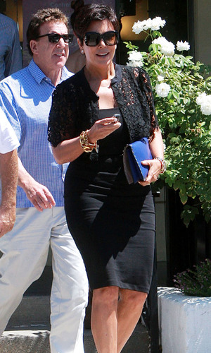 Kris Jenner at a sushi restaurant in Calabasas, California, America - 29 Aug 2013
